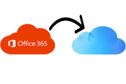 office365 to icloud