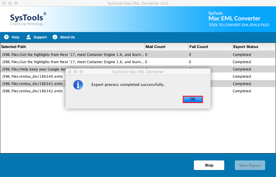 import eml to outlook mac manually
