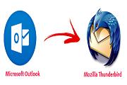 import Outlook PST to Thunderbird