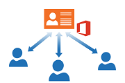 Office 365 contacts