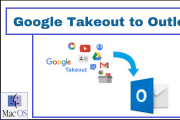 google takeout to outlook mac