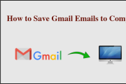 Save Gmail Folders to Hard Drive