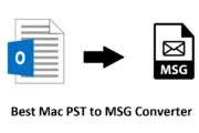 Mac PST to MSG Converter