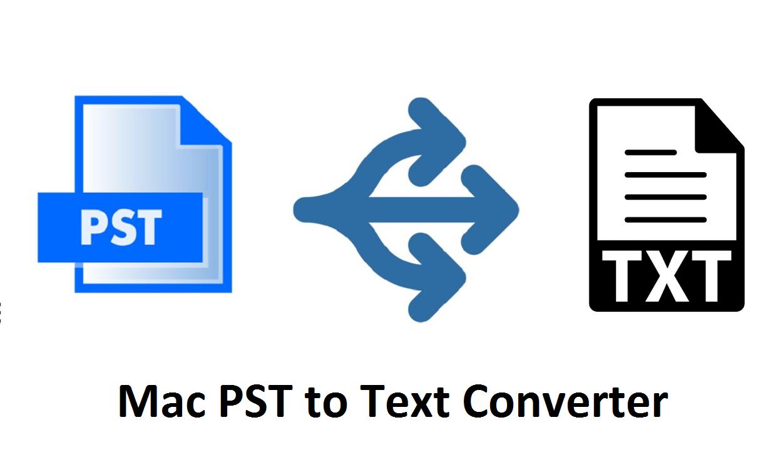 Mac PST to Text Converter