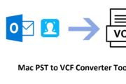 Mac PST to VCF Converter