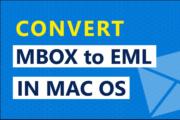 how to convert mbox to eml emlx on mac