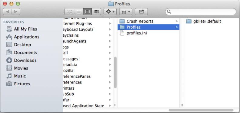 profiles folder