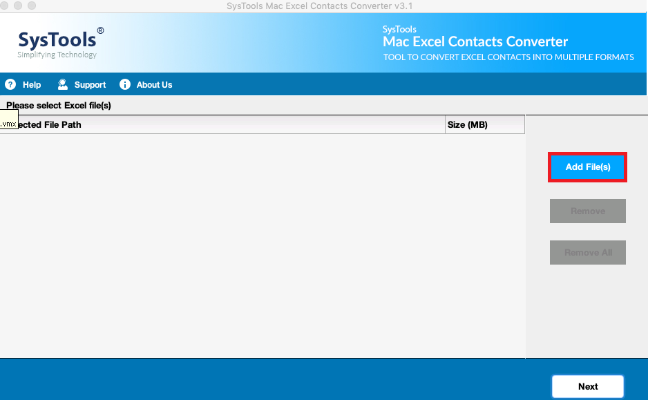 Launch Excel COntacts to Html Conveter Tool