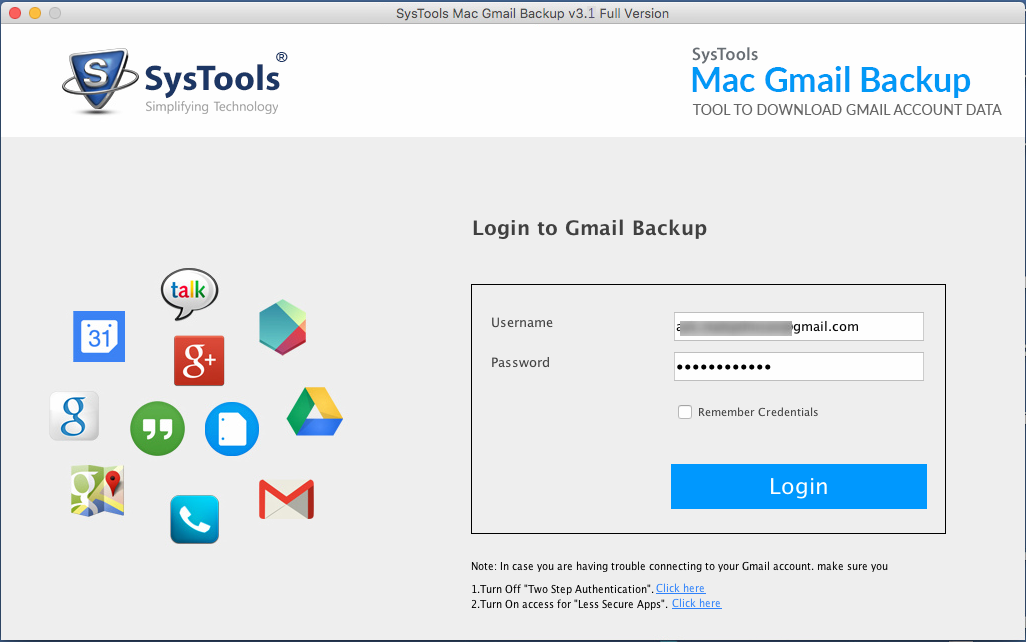 Gmail Email Backup Tool