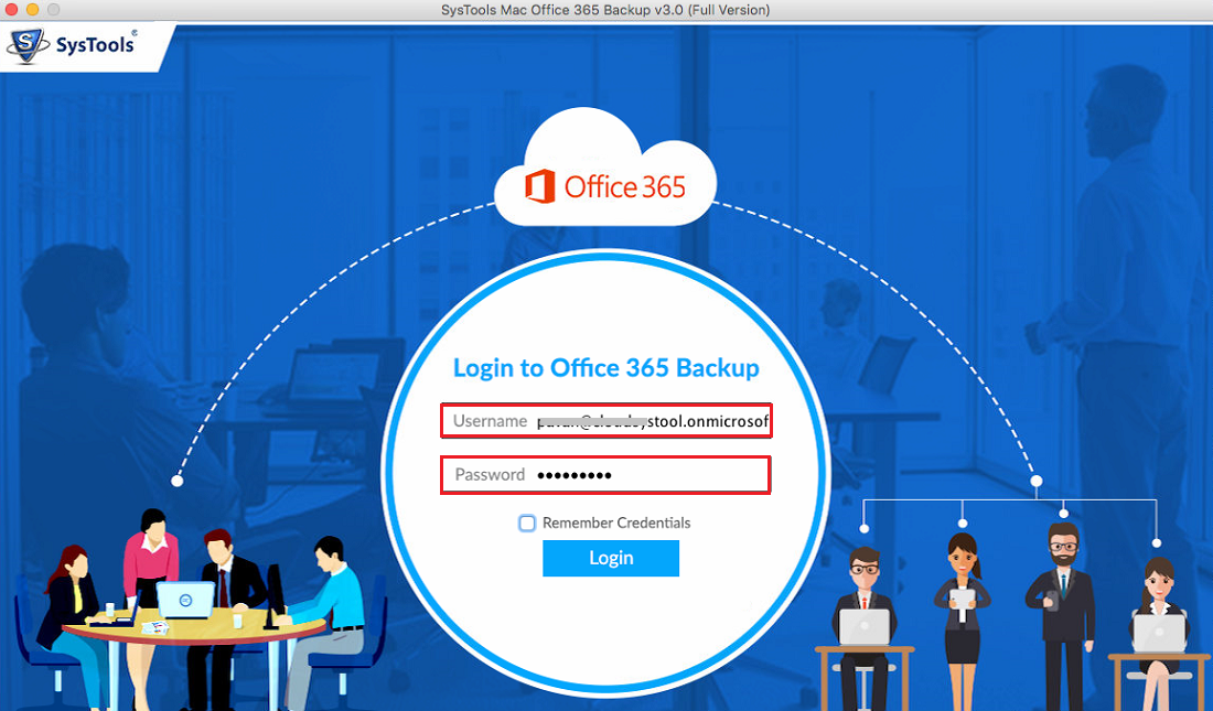 Run Office 365 Export tool for Mac